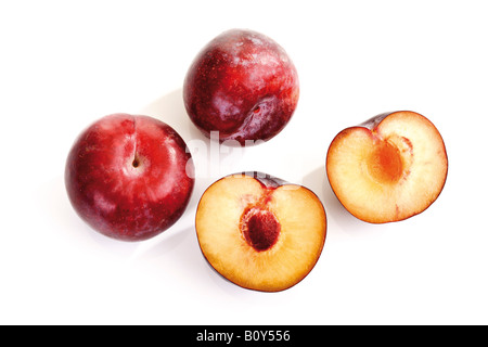 Red plums - Stock Photo