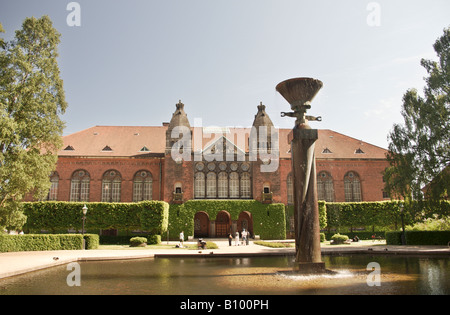 The Danish Royal Library - Stock Photo