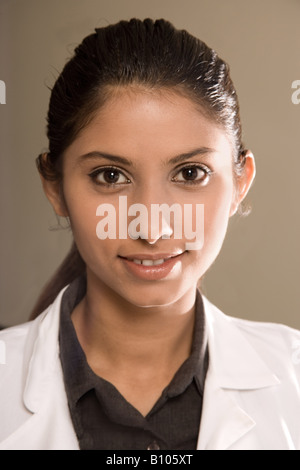 Portrait of a female nutritionist, researchers or nurse. - Stock Photo