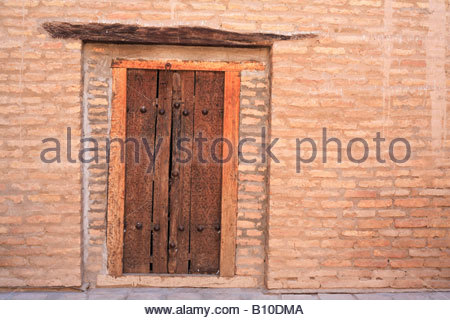 Khan's Palace, Khiva, Uzbekistan - Stock Photo