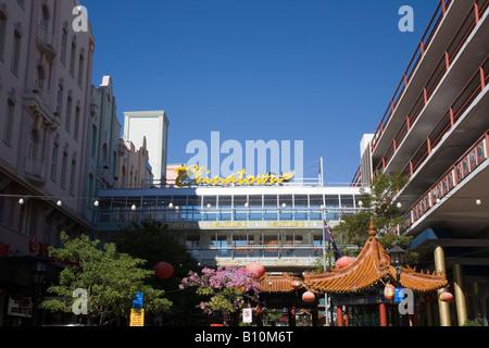 Chinatown area, Fortitude Valley, Brisbane, Australia - Stock Photo