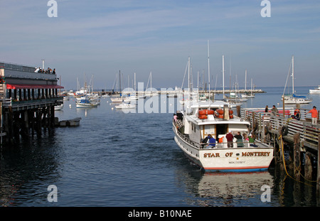 Star of Monterey Whale Watching Boat - Stock Photo