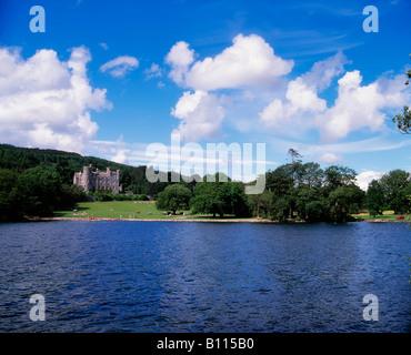 Castlewellan, Castlewellan Lake, Castlewellan Forest Park, County Down, Ireland - Stock Photo