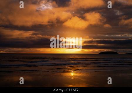 Keel Beach on Achill Island, Ireland - Stock Photo