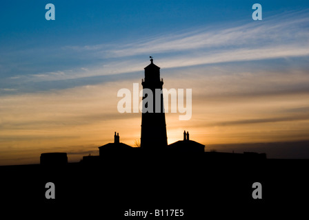 East anglia, Hapisburgh lighthouse featured in Stephen Fry's Kingdom - Stock Photo