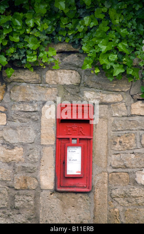 Batheaston Bath BaNES England UK A rural post box - Stock Photo