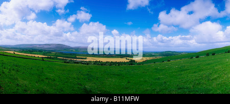 Co Clare, The Burren near Bell Harbour, Ireland - Stock Photo