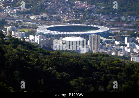 Maracana Stadium Rio de Janeiro Brazil November 10 2004 - Stock Photo