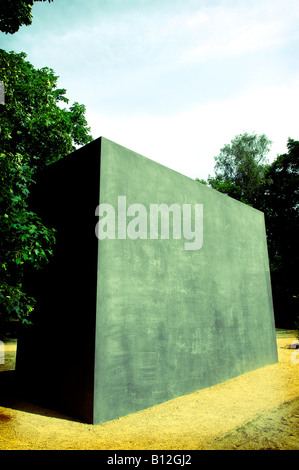 Berlin memorial to gay victims of nazis - Stock Photo