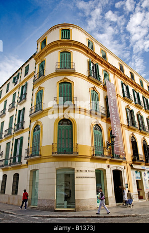 Museo casa natal museum birthplace pablo picasso was born now stock photo royalty free image - Casa natal picasso ...