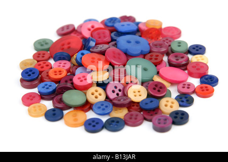 Pile of buttons - Stock Photo