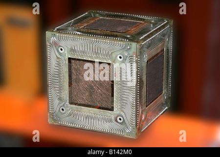 Early Computer memory Board - Stock Photo