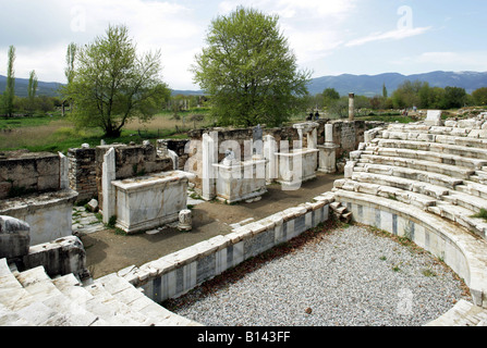 geography / travel, Turkey, Aphrodisias, buildings, Odeon, 2nd century AD, Additional-Rights-Clearance-Info-Not - Stock Photo