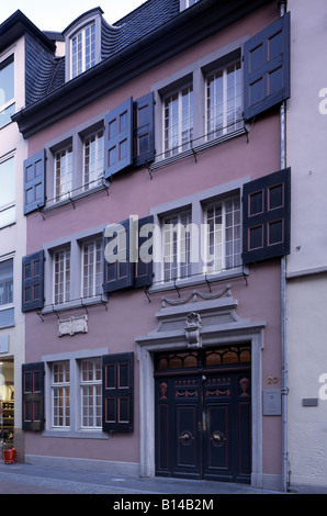 Bonn, Beethovenhaus in der Bonngasse, Geburtshaus Ludwig van Beethoven - Stock Photo