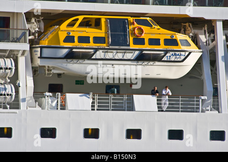 Lifeboat - Aida Diva - Stock Photo