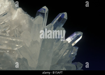 Quartz Crystals - Stock Photo