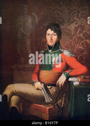 Christian VIII Christian Frederik 1786 1848 King of Denmark From the book Eidsvoll 1814 published 1914 - Stock Photo