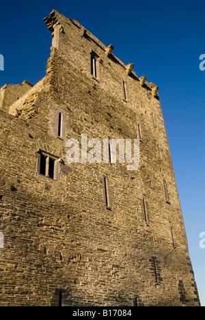 Carrigafoyle Castle, Co Kerry, Ireland - Stock Photo