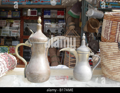 Old Souk, Souq Waqif, oldest market and a tourist attraction in Doha, Qatar. - Stock Photo