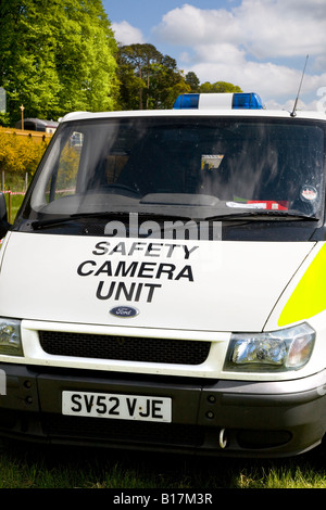 VW Police Camera's detection van at The great Royal Highland Show 2010 Scottish Agricultural Society of Scotland, - Stock Photo