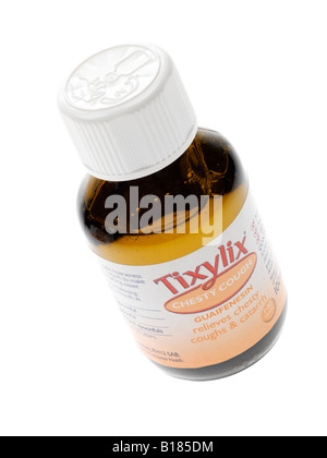 Childrens Cough Medicine - Stock Photo