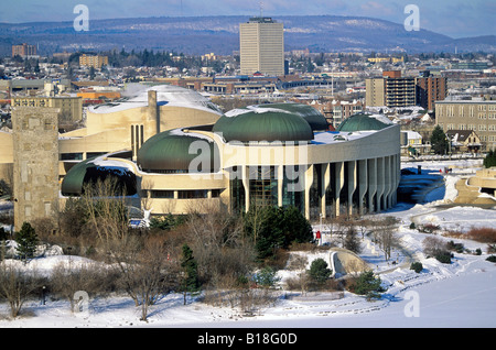 Canada quebec province gatineau city bal de neige for Museum of civilization quebec