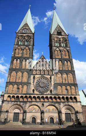 Germany Bremen St Petri Dom Cathedral - Stock Photo
