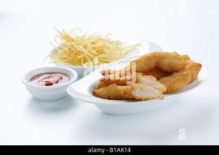 Kitchen fingers - Stock Photo