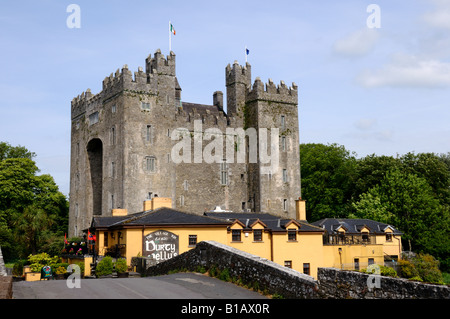 The Bunratty castle. County Clare, Ireland. - Stock Photo