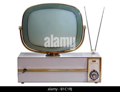 broadcast, television, TV set, typ Philco Predicta, USA, 1960, - Stock Photo
