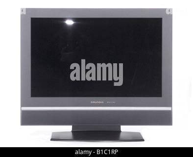 broadcast, television, TV set, typ Grundig Montreal, Germany, 2000s, - Stock Photo