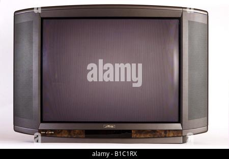 broadcast, television, TV set, typ Metz Kreta, Germany, 2001, - Stock Photo