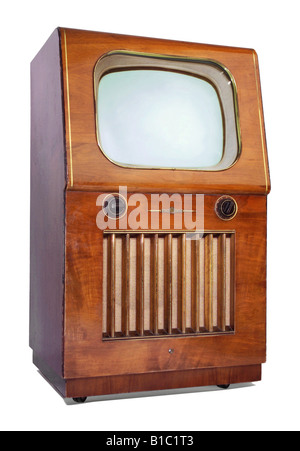 broadcast, television, TV set, typ Nordmende, Germany, 1953, - Stock Photo