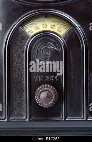 broadcast, radio, radio sets, type, Volksempfaenger typ VE 301 W, Germany, 1933, - Stock Photo