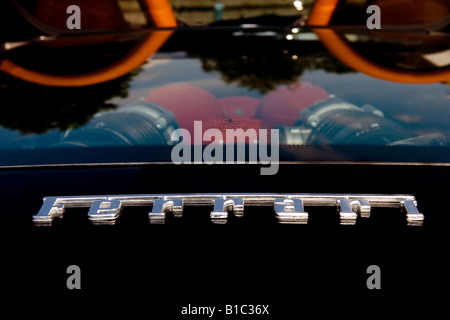 Ferrari F430 Spyder rear top engine cover view - Stock Photo