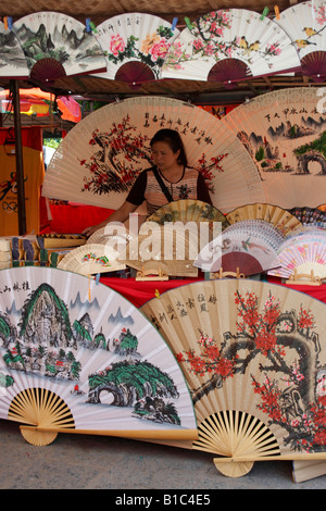 Colourful Souvenirs , Yangshuo , China - Stock Photo