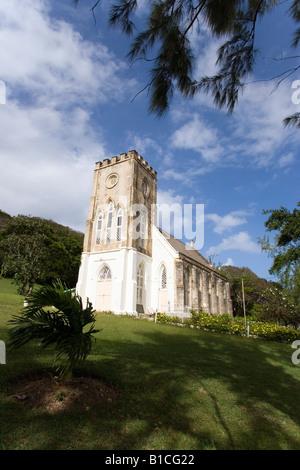 St Andrews Parish Church Barbados Caribbean - Stock Photo