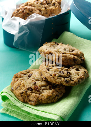 Home made cookies editorial food still life - Stock Photo