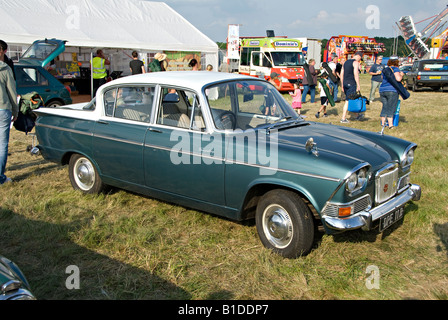 A nineteen sixties Humber Sceptre motor car on show at the Biggin Hill Airshow, Biggin Hill, Kent, England. - Stock Photo