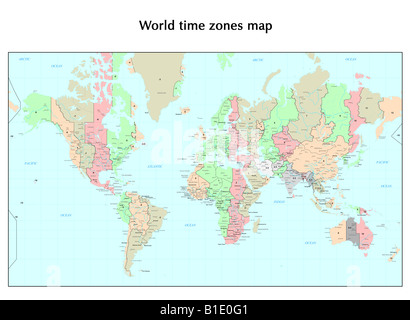 United states time zones map stock vector art illustration vector dated 19th century world time zones map stock photo gumiabroncs Choice Image