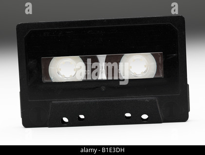 vhs videos film movie cassette tape-recorder tape - Stock Photo
