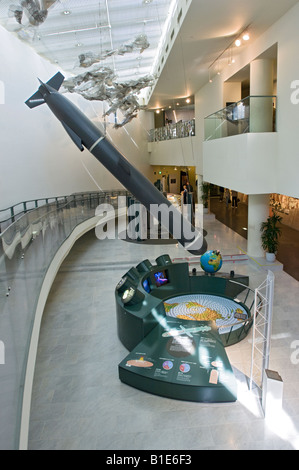 A model of a Cruise Missile in the Nagasaki Atomic Bomb Museum - Stock Photo