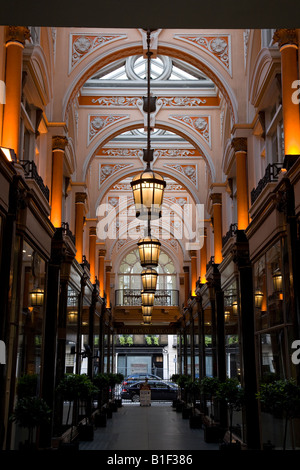 The Royal Arcade London England UK, a victorian arcade off Old Bond Street - Stock Photo