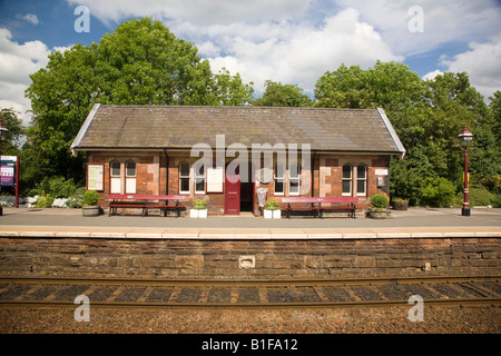 Appleby Station Westmorland - Stock Photo