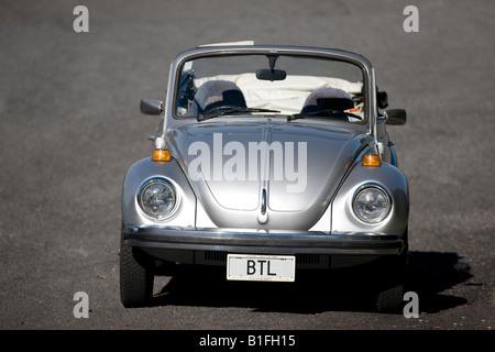 1979 Volkswagen Beetle Bug Convertible. - Stock Photo