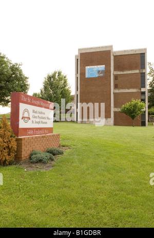 Glore Psychiatric Museum St Joseph Missouri USA - Stock Photo