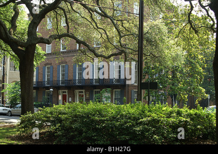 Davenport House Museum, Savannah Georgia - Stock Photo