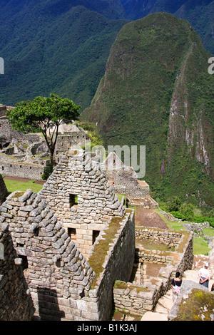 Machu Picchu Peru - Stock Photo
