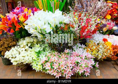 ... An Outdoor Flower Display At The Gardenia Flower Shop In Zamalek Cairo  Egypt   Stock Photo