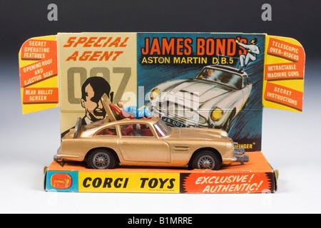 Corgi model car James Bond 007 Aston Martin DB5 with original ...